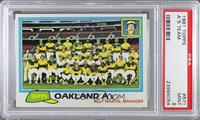 Team Checklist - Oakland A's [PSA 9]