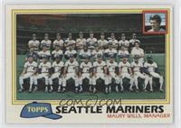 Team Checklist - Seattle Mariners