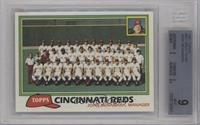 Team Checklist - Cincinnati Reds [BGS 9]