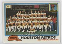 Team Checklist - Houston Astros