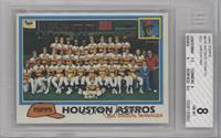 Team Checklist - Houston Astros [BGS8]