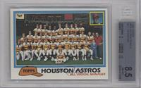 Team Checklist - Houston Astros [BGS 8.5]