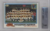 Team Checklist - Houston Astros [BGS9]