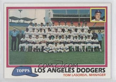 1981 Topps - [Base] #679 - Team Checklist - Los Angeles Dodgers