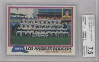 Team Checklist - Los Angeles Dodgers [BGS 7.5]