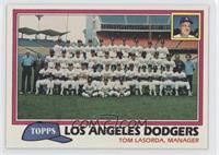 Team Checklist - Los Angeles Dodgers