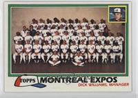 Team Checklist - Montreal Expos
