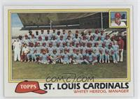 Team Checklist - St. Louis Cardinals