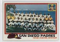 Team Checklist - San Diego Padres
