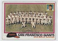 Team Checklist - San Francisco Giants