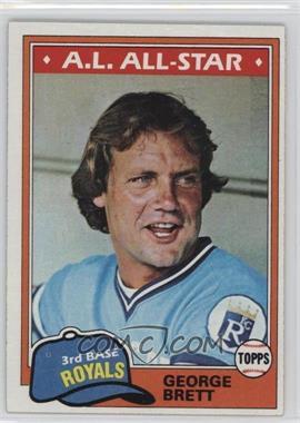 1981 Topps - [Base] #700 - George Brett