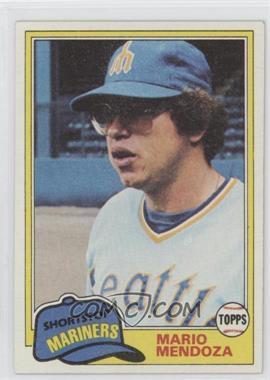 1981 Topps - [Base] #76 - Mario Mendoza
