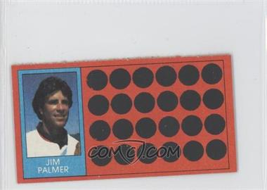 1981 Topps Baseball Scratch-Off - [Base] - Separated #50.1 - Jim Palmer (Ball-Strike Indicator)