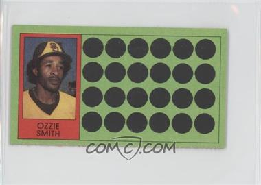 1981 Topps Baseball Scratch-Off - [Base] - Separated #68 - Ozzie Smith