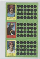 Keith Hernandez, Steve Carlton, Jerry Don Gleaton, Gene Richards