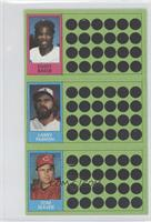 Dusty Baker, Tom Seaver, Larry Parrish