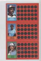 Eddie Murray, Willie Aikens, Otto Velez