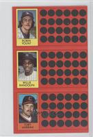 Toby Harrah, Willie Randolph, Robin Yount
