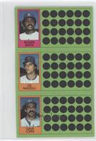 Reggie Smith, Davey Lopes, Lee Mazzilli
