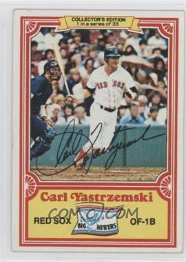 1981 Topps Drake's Big Hitters - [Base] #1 - Carl Yastrzemski