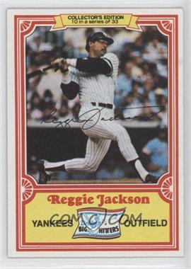 1981 Topps Drake's Big Hitters - [Base] #10 - Reggie Jackson