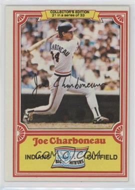 1981 Topps Drake's Big Hitters - [Base] #21 - Joe Charboneau