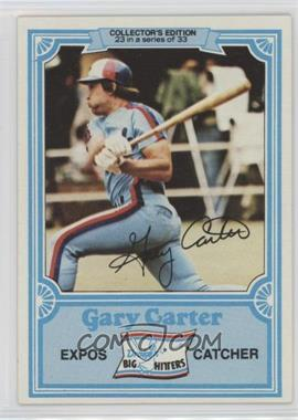 1981 Topps Drake's Big Hitters - [Base] #23 - Gary Carter