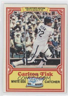 1981 Topps Drake's Big Hitters - [Base] #32 - Carlton Fisk