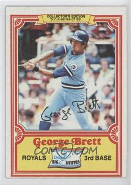 1981 Topps Drake's Big Hitters - [Base] #5 - George Brett