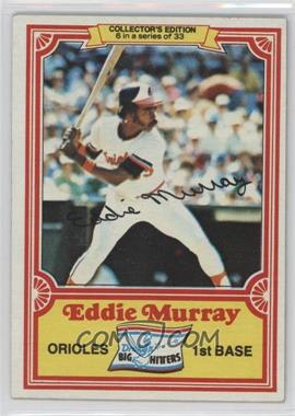 1981 Topps Drake's Big Hitters - [Base] #6 - Eddie Murray