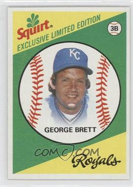 1981 Topps Squirt Exclusive Limited Edition - Food Issue [Base] #1 - George Brett