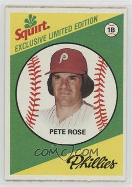 1981 Topps Squirt Exclusive Limited Edition - Food Issue [Base] #11 - Pete Rose