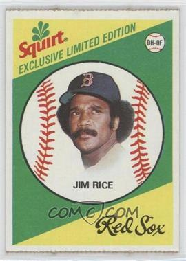1981 Topps Squirt Exclusive Limited Edition - Food Issue [Base] #7 - Jim Rice
