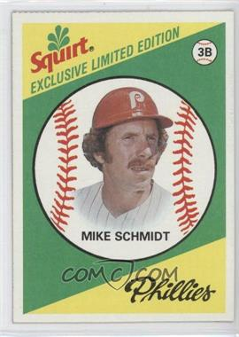1981 Topps Squirt Exclusive Limited Edition - Food Issue [Base] #8 - Mike Schmidt