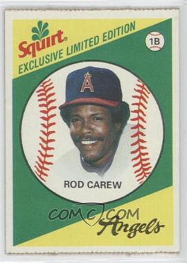 1981 Topps Squirt Exclusive Limited Edition - Food Issue [Base] #9 - Rod Carew