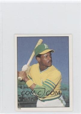 1981 Topps Stickers - [Base] #115 - Rickey Henderson