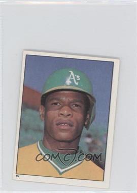 1981 Topps Stickers - [Base] #15 - Rickey Henderson