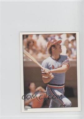 1981 Topps Stickers - [Base] #222 - Ken Oberkfell