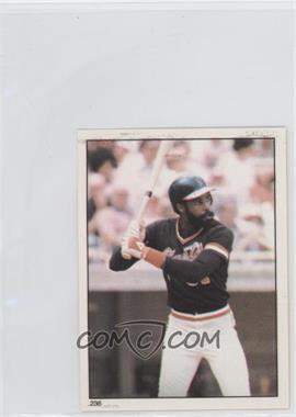 1981 Topps Stickers - [Base] #236 - Larry Herndon