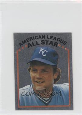 1981 Topps Stickers - [Base] #243 - George Brett