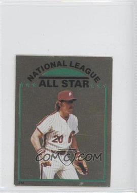 1981 Topps Stickers - [Base] #254 - Mike Schmidt
