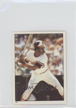 1981 Topps Stickers - [Base] #34 - Eddie Murray