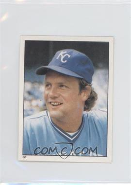 1981 Topps Stickers - [Base] #82 - George Brett