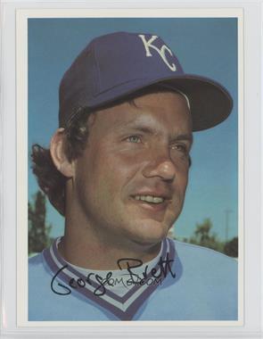 1981 Topps Super National - [Base] #GEBR - George Brett
