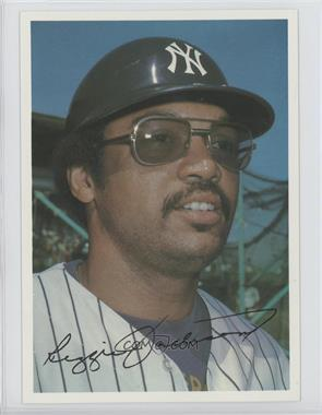 1981 Topps Super National - [Base] #REJA - Reggie Jackson