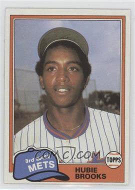 1981 Topps Traded - [Base] #742 - Hubie Brooks