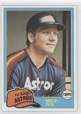 1981 Topps Traded - [Base] #774 - Mike Ivie