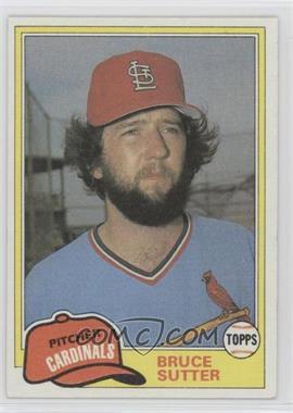 1981 Topps Traded - [Base] #838 - Bruce Sutter