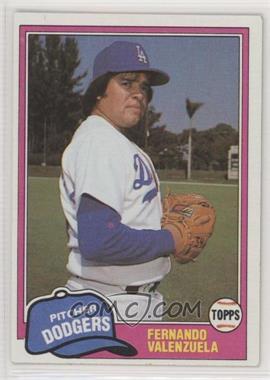 1981 Topps Traded - [Base] #850 - Fernando Valenzuela