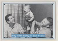 Mickey Mantle, Billy Martin, Mickey Mantle Jr.